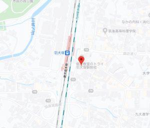 日若屋地図