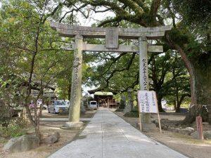 諏訪神社(羽犬塚)