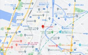 ルブラン箱崎地図