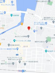 トラストビル姪浜map