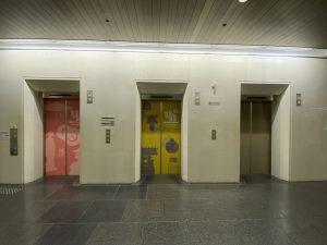 県庁エレベータ