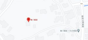 椿八幡宮地図