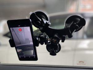 車載カメラ固定器具②