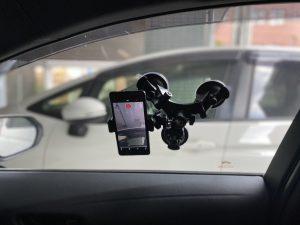 車載カメラ固定器具③
