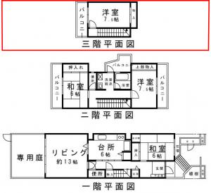 スカイタウン寺塚3階